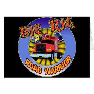 Big Rig T-shirts and Gifts For Him Greeting Card