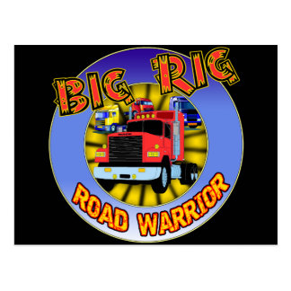 Big Rig T-shirts and Gifts For Him Postcard