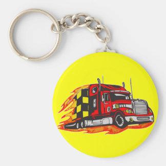 Big Rig Truck Keychains