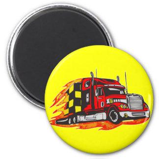 Big Rig Truck Magnet