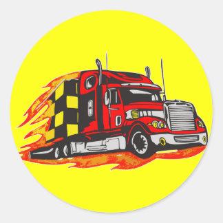 Big Rig Truck Stickers