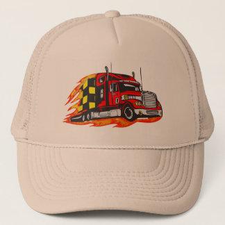 Big Rig Truck Trucker Hat