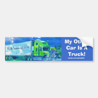 Big Rig Truckers Bumper Sticker Collection