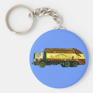 Big Rig Trucker's Lorry Design for Truck-lovers Keychain