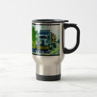 Big Rig Trucker's Lorry Design for Truck-lovers Travel Mug