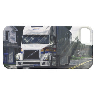 Big Rig White Truck Lorry Driver's iPhone 5 Case