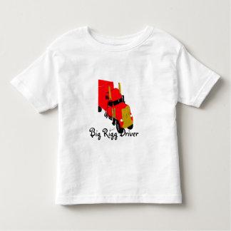 Big Rigg Driver  Toddler Shirt