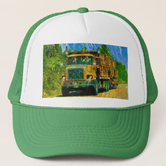 Big Rigs Heavy Transport Trucker's Hat