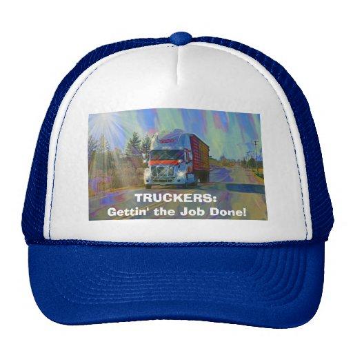 BIG RIGS TRUCK DRIVERS GEAR TRUCKER HATS