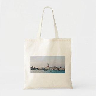 Big river, big city budget tote bag
