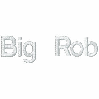 Big Rob Sweater Embroidered Hoodie