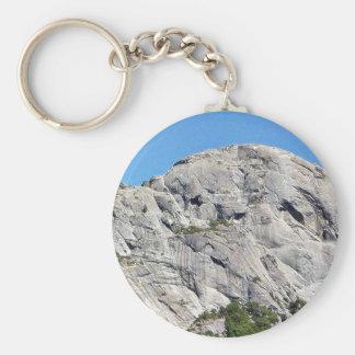 Big Rock Mauntain Basic Round Button Keychain
