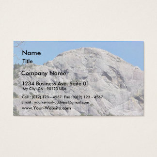 Big Rock Mauntain Business Card