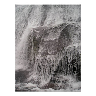 Big Rock Water Fall Posters