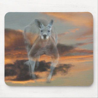Big roo sky mouse pad
