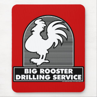 Big Rooster Drilling Service 1 Mouspad Mouse Pad