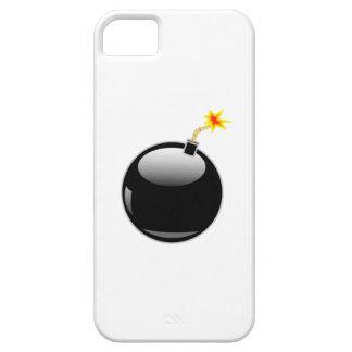 Big Round Bomb with Lit Fuse iPhone SE/5/5s Case
