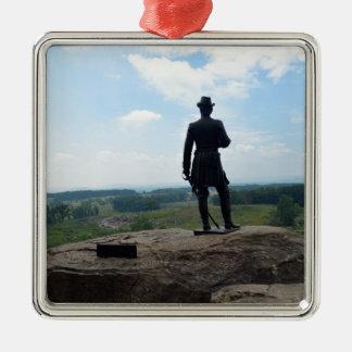 Big Round Top in Gettysburg Metal Ornament