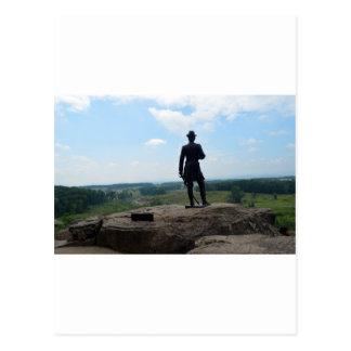 Big Round Top in Gettysburg Postcard