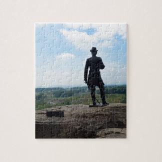 Big Round Top in Gettysburg Puzzle