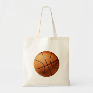 Big Round Tradition Orange Basketball, Tote Bag