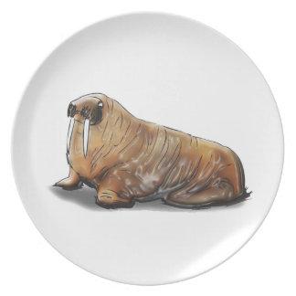 BIG Russ Momma! Dinner Plates
