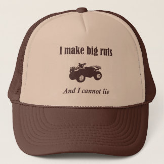 Big Ruts Funny Four Wheeler ATV Country Hat