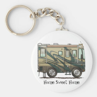 Big RV Camper Key Chains HSH