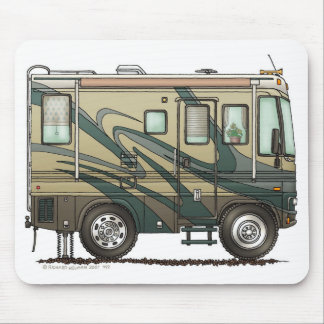 Big RV Camper Mouse Pad