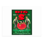 """Big """"S"""" Tomatoes Post Cards"""