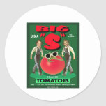 """Big """"S"""" Tomatoes Stickers"""