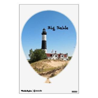 Big Sable Lighthouse Wall Decal