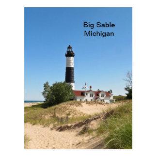 Big Sable Lightouse Postcard