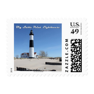 Big Sable Point Lighthouse:1st Class Postage