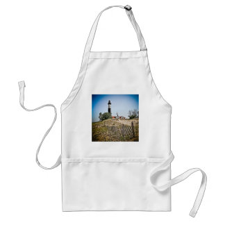 Big Sable Point Lighthouse Adult Apron