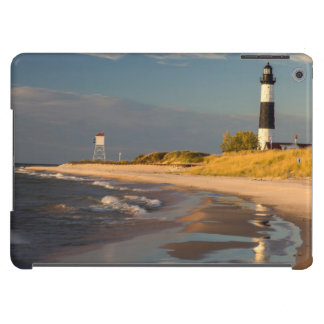 Big Sable Point Lighthouse On Lake Michigan 2 Cover For iPad Air