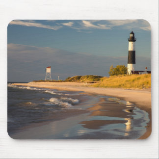 Big Sable Point Lighthouse On Lake Michigan 2 Mouse Pad