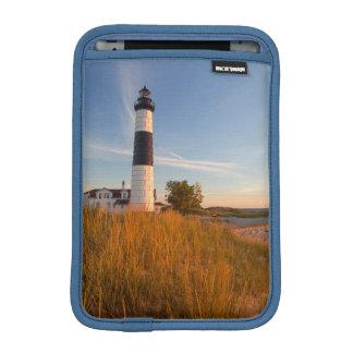 Big Sable Point Lighthouse On Lake Michigan 3 iPad Mini Sleeves