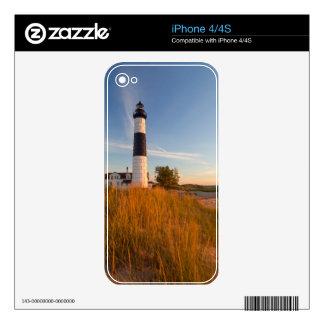 Big Sable Point Lighthouse On Lake Michigan 3 iPhone 4 Skin