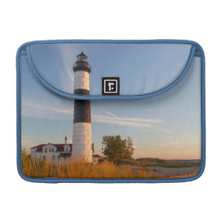 Big Sable Point Lighthouse On Lake Michigan 3 MacBook Pro Sleeve