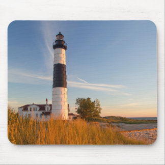 Big Sable Point Lighthouse On Lake Michigan 3 Mouse Pad