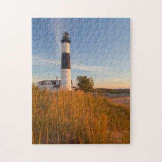 Big Sable Point Lighthouse On Lake Michigan 3 Puzzles