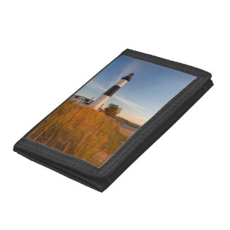 Big Sable Point Lighthouse On Lake Michigan 3 Trifold Wallets
