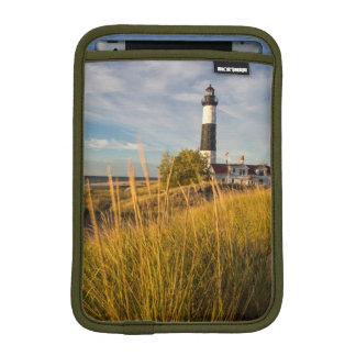 Big Sable Point Lighthouse On Lake Michigan iPad Mini Sleeves