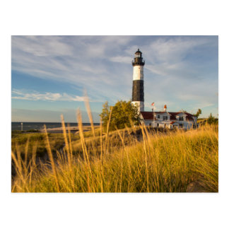 Big Sable Point Lighthouse On Lake Michigan Postcard