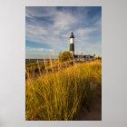 Big Sable Point Lighthouse On Lake Michigan Poster
