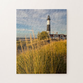 Big Sable Point Lighthouse On Lake Michigan Puzzle