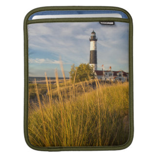 Big Sable Point Lighthouse On Lake Michigan Sleeve For iPads