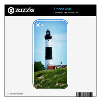 Big Sable Point Lighthouse Decals For The iPhone 4S
