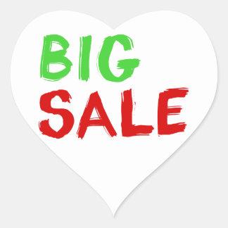 Big Sale Heart Sticker
